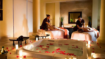 moon palace cancun mexico resort relaxing spa
