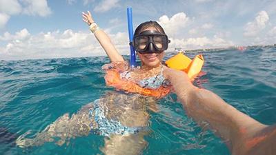 isla palace mujeres snorkeling cancun mexico