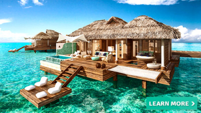 sandals royal caribbean overwater bungalows vacation