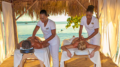 hedonism swingers resort spa massages