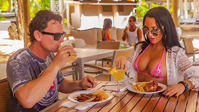 hedonism swingers resort best places to eat