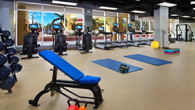 saint kitts beach club fitness center