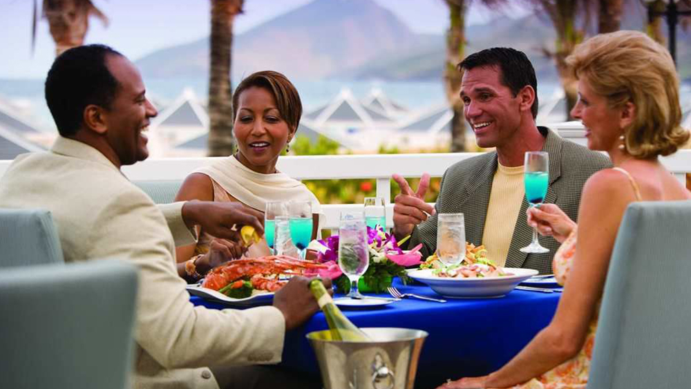 saint kitts beach club best places to dine caribbean