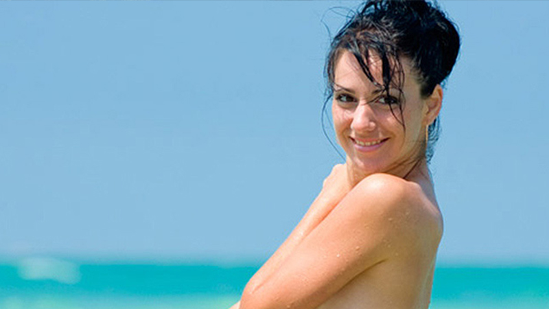best caribbean topless beaches