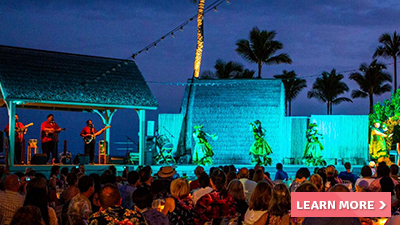 courtyard king kamehameha's kona beach hotel hawaii luau