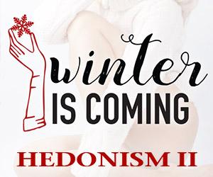 hedonism winter is coming best deals