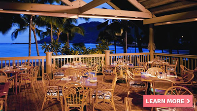 kaua'i resort marriott hawaii best places to dine