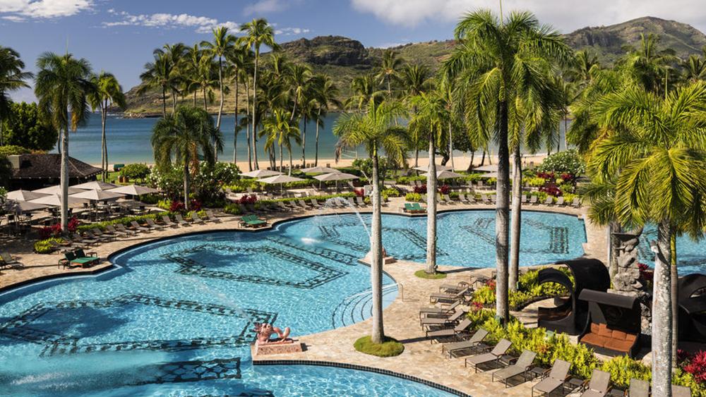 kaua'i marriott resort hawaii travel destination
