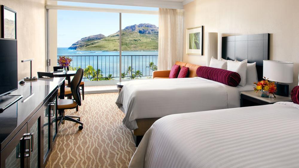 kaua'i marriott resort hawaii beach vacation