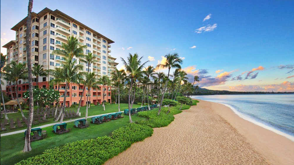 marriott's maui ocean club hawaiian beach getaway