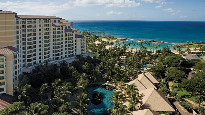 best hawaiian marriott resorts marriott's ko olina beach club