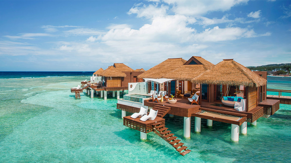 sandals grande saint lucian over the water bungalows