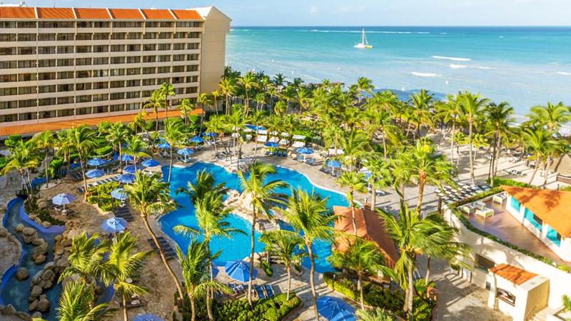 top caribbean hurricane-free resorts barcelo aruba vacation