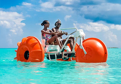 what to to do at sandals aqua trikes