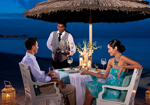 what to to do at sandals candlelight dining