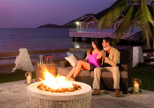 what to to do at sandals fire pits