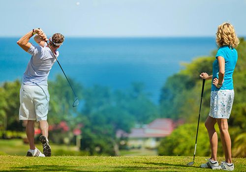 what to to do at sandals golf