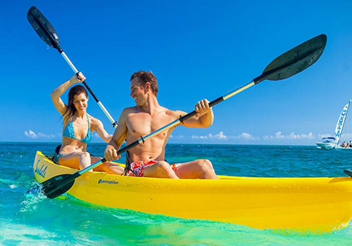 what to to do at sandals kayacking