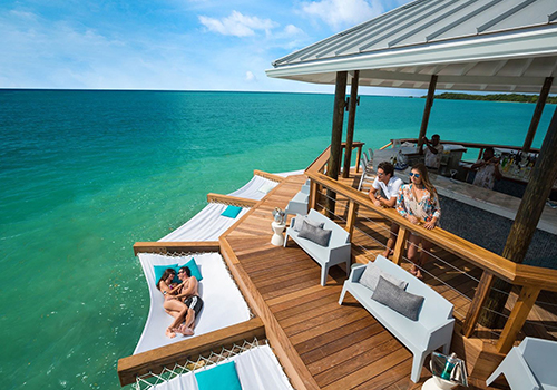 what to to do at sandals over-the-water-bar