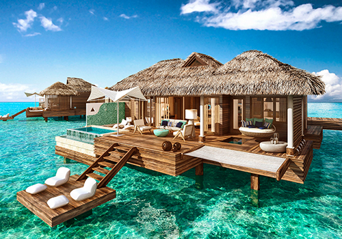 what to to do at sandals overwater bungalows