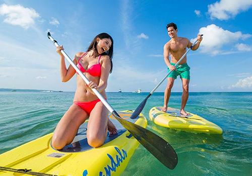 what to to do at sandals paddleboarding