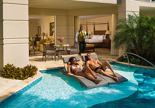 things to do at sandals swim-up room