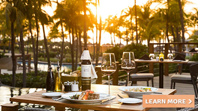 hilton aruba caribbean resort best places to eat