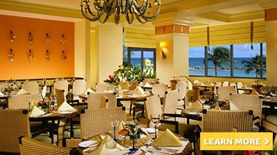 hilton barbados resort best places to dine