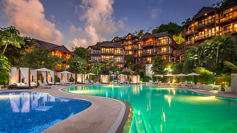 caribbean resorts for the fourth of july capella marigot bay