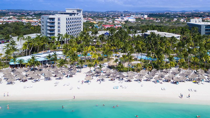 caribbean resorts for the fourth of july hilton aruba
