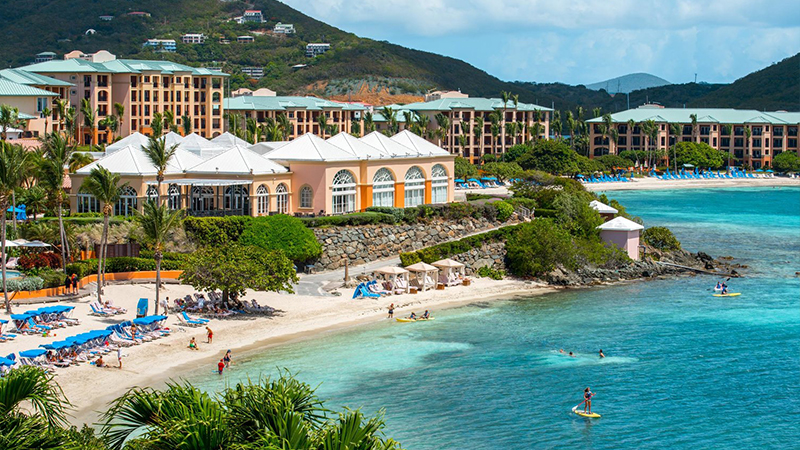 resorts for the fourth of july ritz carlton st thomas