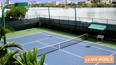 condado plaza caribbean tennis courts