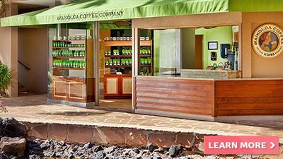 waikoloa village hilton hawaii best coffee joint