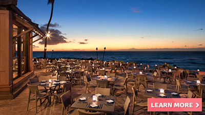 hilton grand vacations by ocean tower hawaii best places to dine