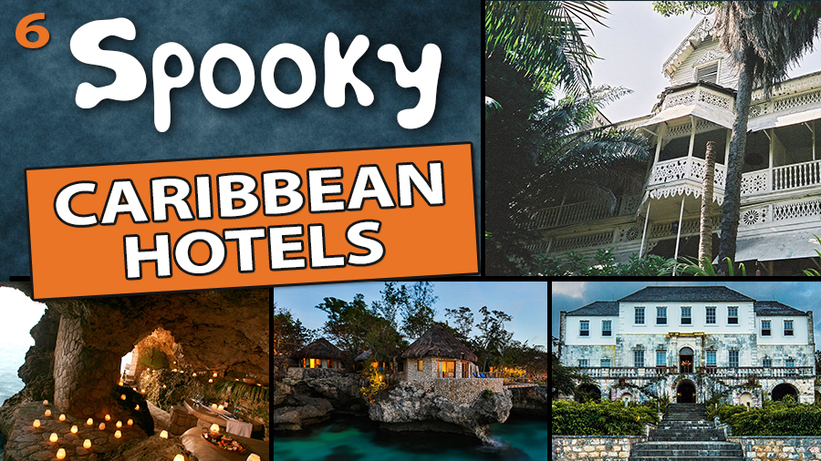 spooky caribbean hotels for halloween vacations