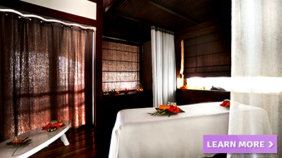 le meridien bora south pacific best spas