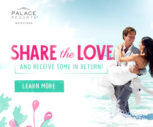 palace resorts share the love wedding deals