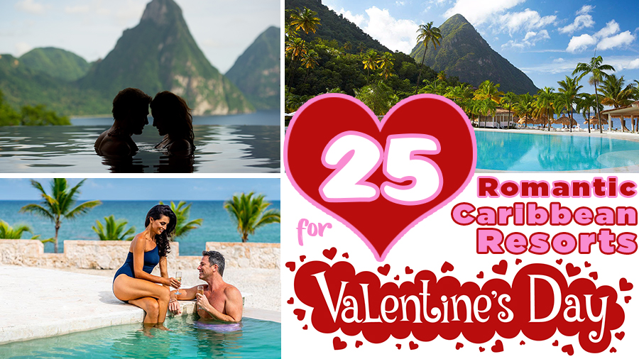 top 25 best romantic caribbean resorts for valentine's day couples