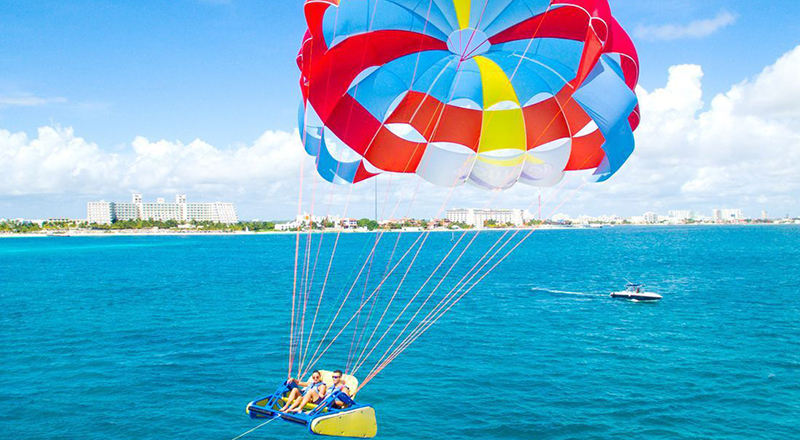 cancun water activites tours