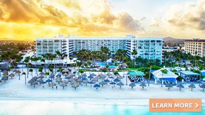 caribbean getaways aruba marriott resort