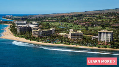 lavish hotel marriott's maui ocean club hawaii