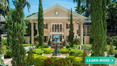 luxury vacation sandals royal plantation caribbean