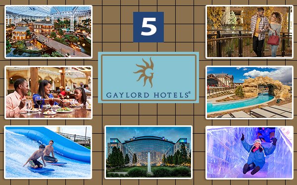 gaylord hotels united states luxury travel