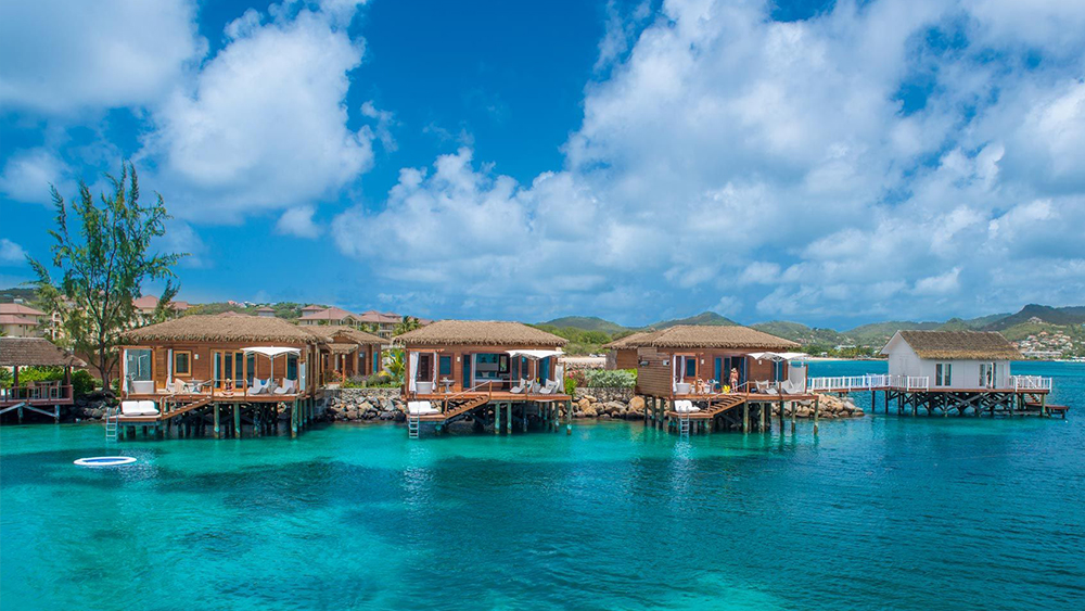 sandals grande saint lucian over-the-water bungalows