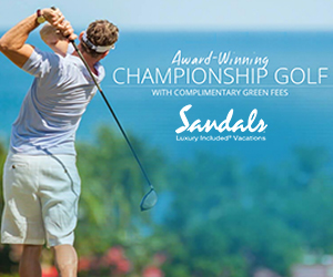 sandals award winning golf courses