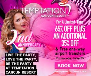 temptation best topless travel deals