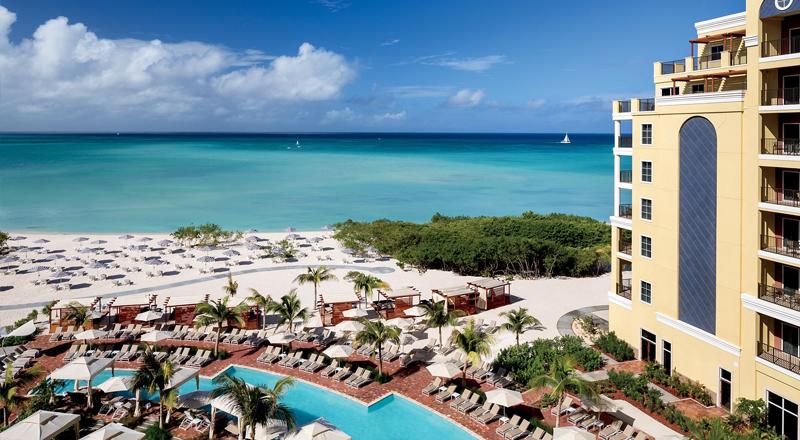 resorts in caribbean for 2020 ritz carlton aruba