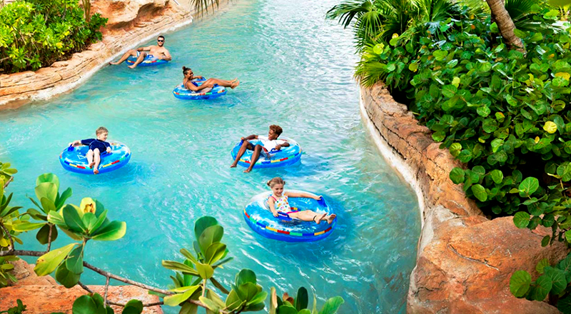 lazy rivers caribbean resorts atlantis paradise island