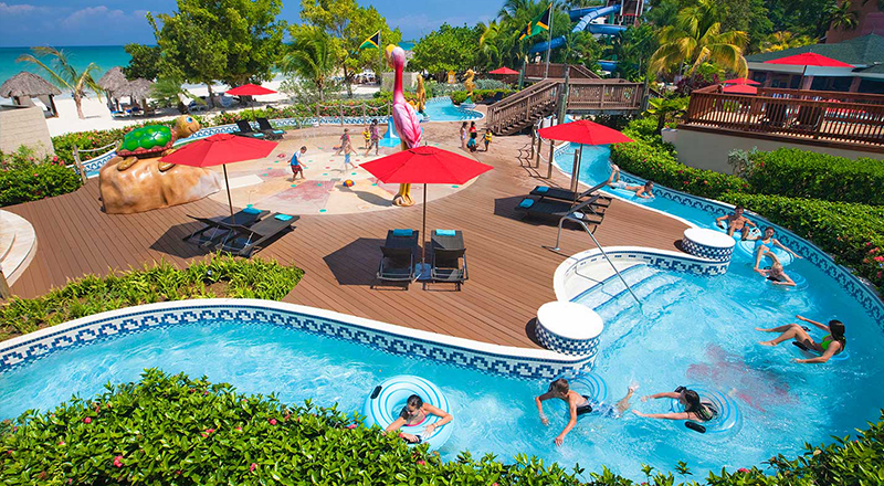 lazy rivers caribbean resorts beaches negril