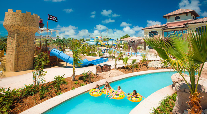 lazy rivers caribbean resorts beaches turks and caicos